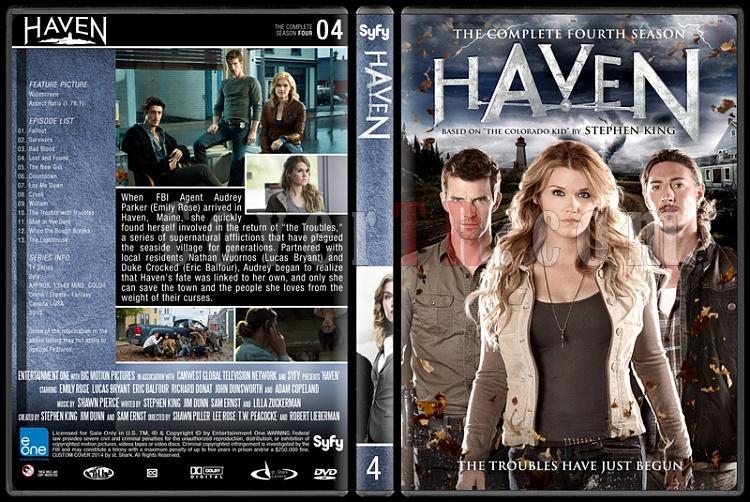 Haven (Seasons 1-4) - Custom Dvd Cover Set - English [2010-?]-4jpg