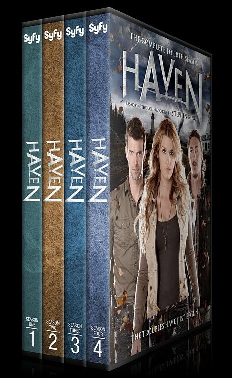 Haven (Seasons 1-4) - Custom Dvd Cover Set - English [2010-?]-0jpg