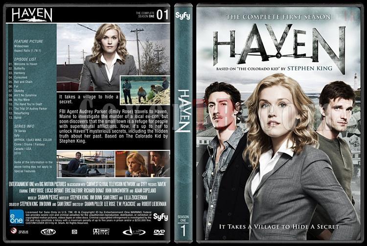 Haven (Seasons 1-4) - Custom Dvd Cover Set - English [2010-?]-1jpg