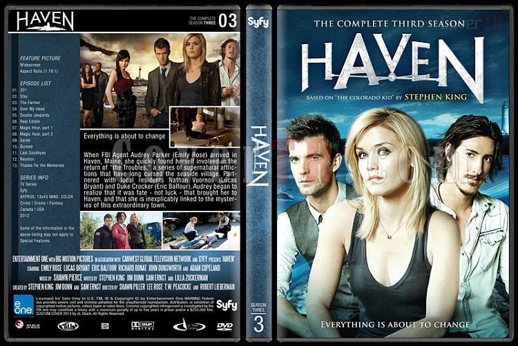 Haven (Seasons 1-4) - Custom Dvd Cover Set - English [2010-?]-3jpg
