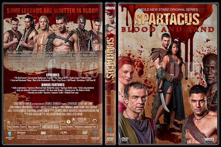Spartacus (All Seasons) - Custom Dvd Cover Set - English [2010-2013]-2jpg