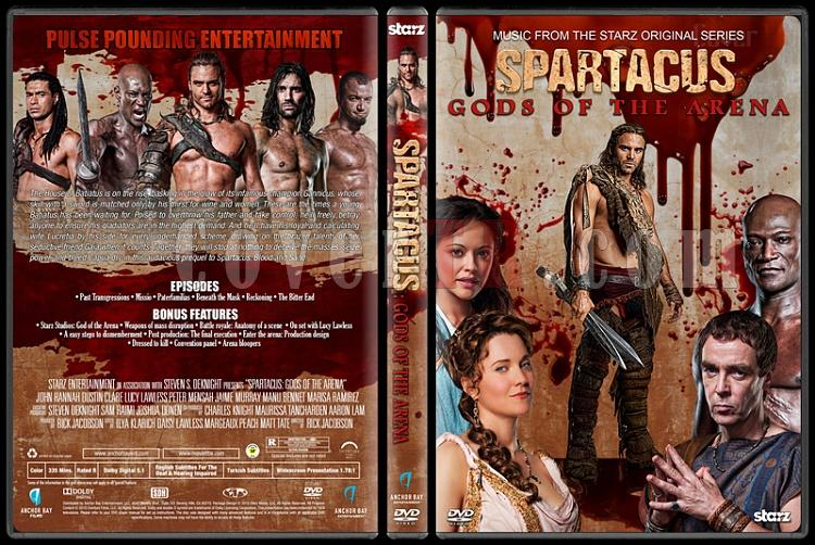 Spartacus (All Seasons) - Custom Dvd Cover Set - English [2010-2013]-3jpg