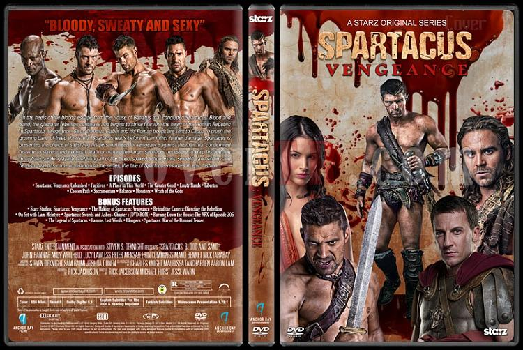 Spartacus (All Seasons) - Custom Dvd Cover Set - English [2010-2013]-4jpg