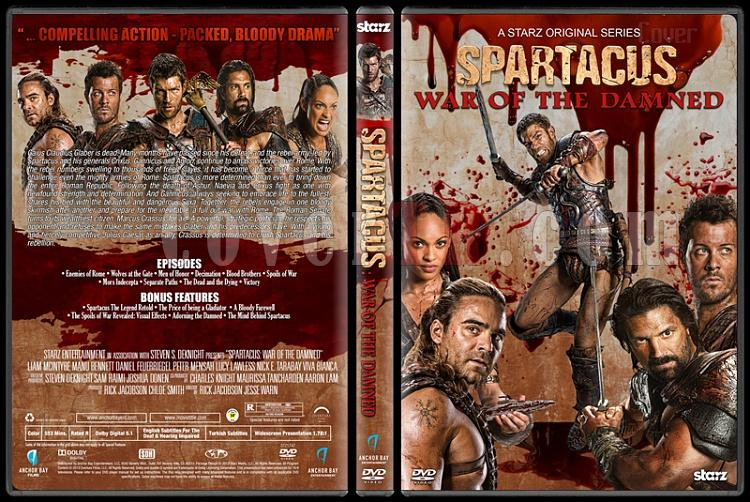 Spartacus (All Seasons) - Custom Dvd Cover Set - English [2010-2013]-5jpg