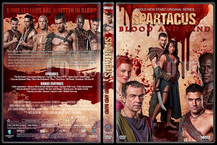 Spartacus (All Seasons) - Custom Dvd Cover Set - English [2010-2013]-2jpg
