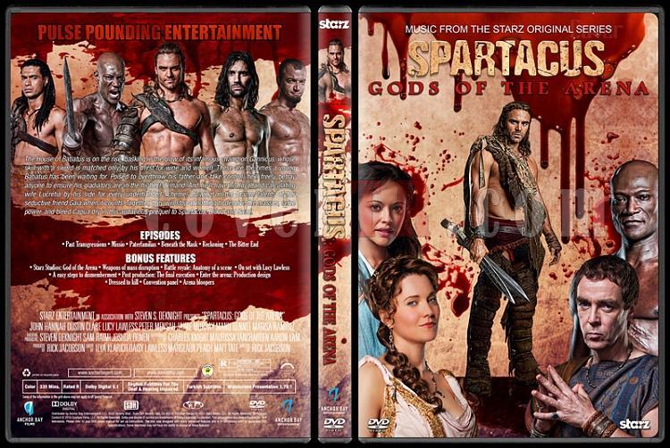 Spartacus (All Seasons) - Custom Dvd Cover Set - English [2010-2013]-3jpg