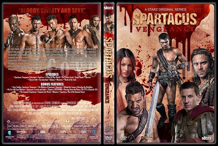 Spartacus (All Seasons) - Custom Dvd Cover Set - English [2010-2013]-4jpg