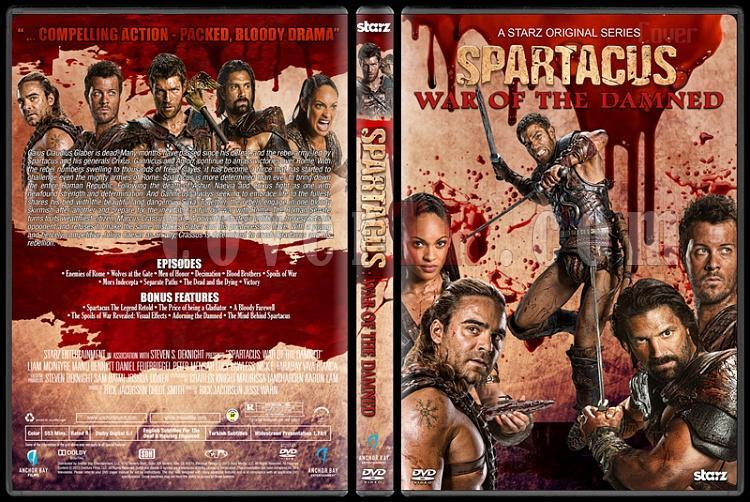 Spartacus (All Seasons) - Custom Dvd Cover Set - English [2010-2013]-5jpg
