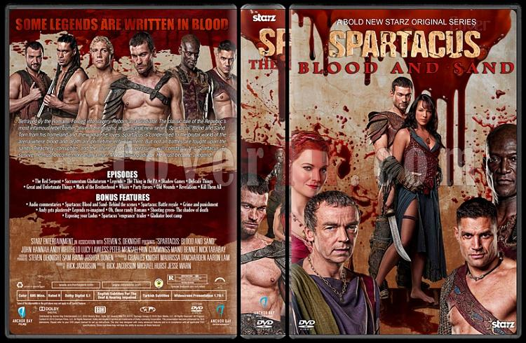 Spartacus (The Complete Series) - Custom Dvd Cover Set - English [2010-2013]-2jpg