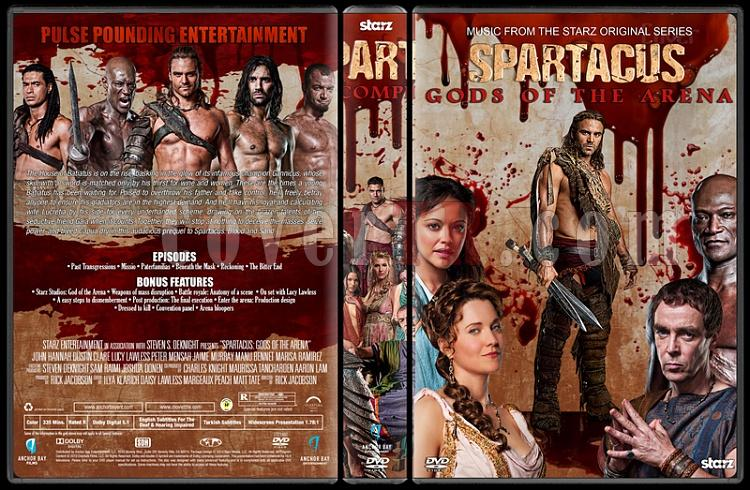 Spartacus (The Complete Series) - Custom Dvd Cover Set - English [2010-2013]-3jpg