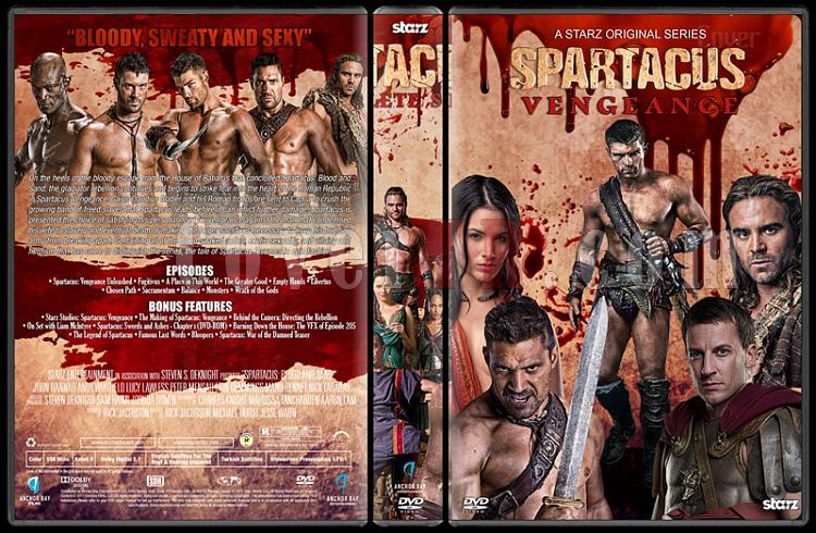 Spartacus (The Complete Series) - Custom Dvd Cover Set - English [2010-2013]-4jpg
