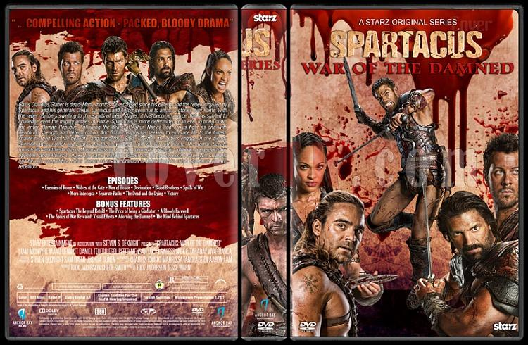 Spartacus (The Complete Series) - Custom Dvd Cover Set - English [2010-2013]-5jpg