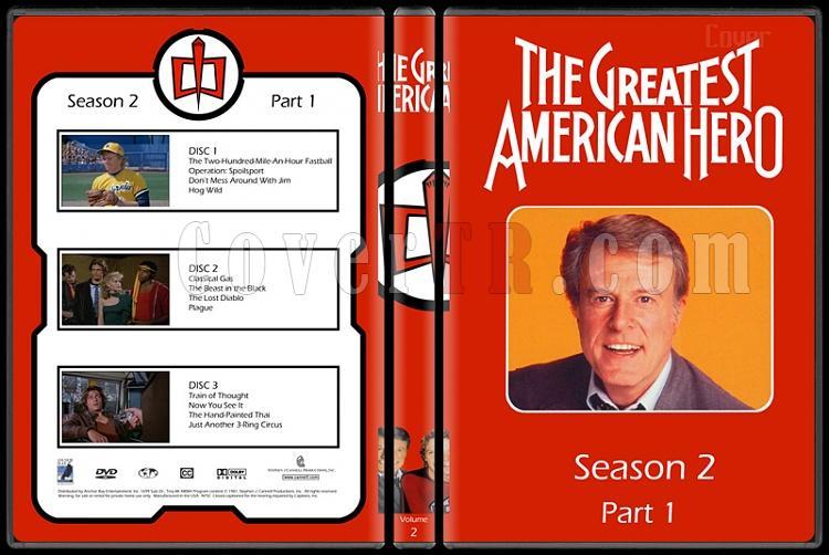 The Greatest American Hero (Season 1-3) - Custom Dvd Cover - English [1981-1983]-2jpg