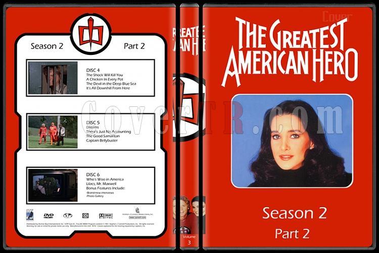The Greatest American Hero (Season 1-3) - Custom Dvd Cover - English [1981-1983]-3jpg