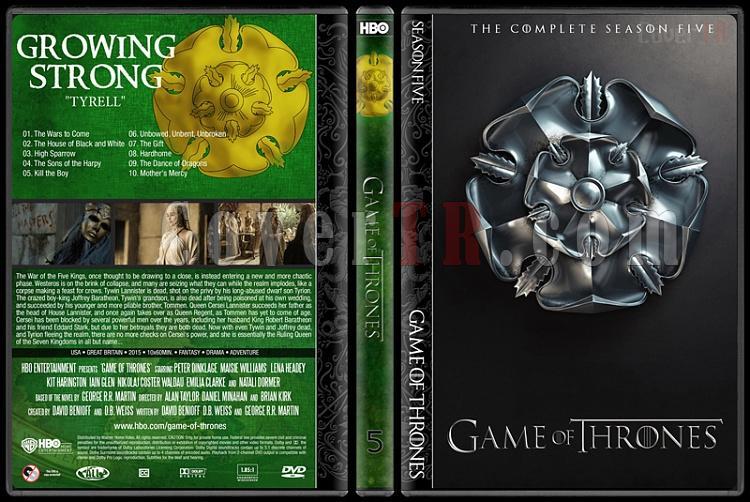 Game of Thrones (Seasons 1-5) - Custom Dvd Cover Set - English [2011-?]-5jpg