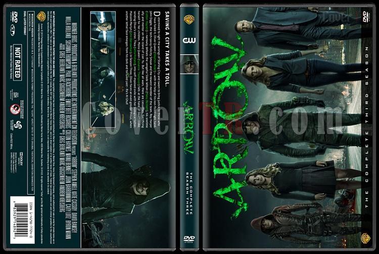 Arrow (Seasons 1-3) - Custom Dvd Cover Set - English [2012-?]-s03jpg