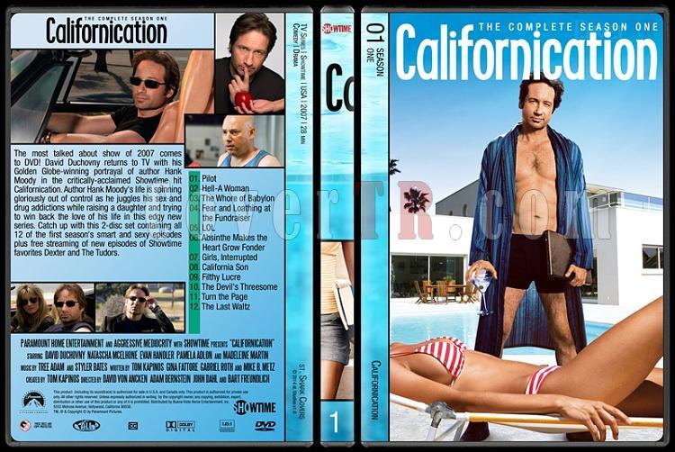 Californication (Seasons 1-7) - Custom Dvd Cover Set - English [2007-2014]-1jpg