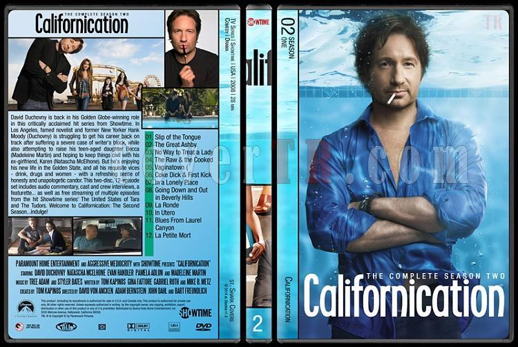 Californication (Seasons 1-7) - Custom Dvd Cover Set - English [2007-2014]-2jpg