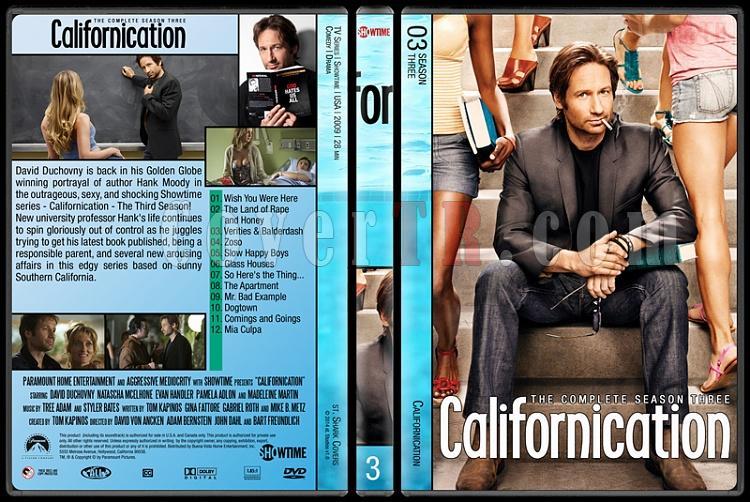 Californication (Seasons 1-7) - Custom Dvd Cover Set - English [2007-2014]-3jpg