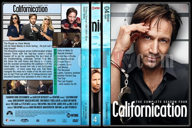 Californication (Seasons 1-7) - Custom Dvd Cover Set - English [2007-2014]-4jpg