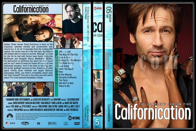 Californication (Seasons 1-7) - Custom Dvd Cover Set - English [2007-2014]-5jpg