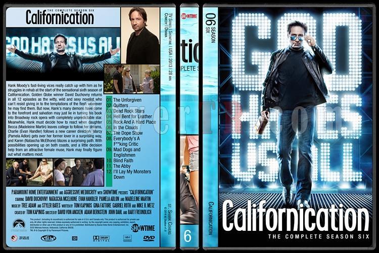 Californication (Seasons 1-7) - Custom Dvd Cover Set - English [2007-2014]-6jpg