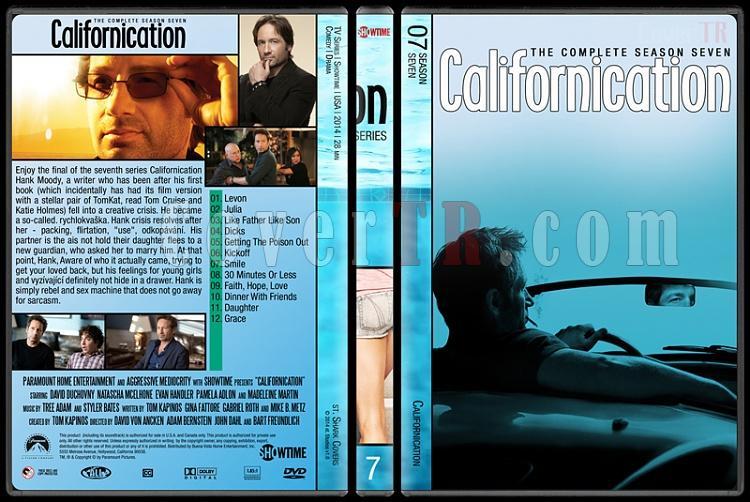 Californication (Seasons 1-7) - Custom Dvd Cover Set - English [2007-2014]-7jpg