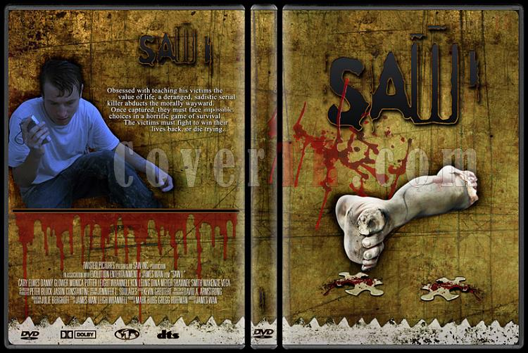 Saw - Custom Dvd Cover Set - English [2004-2010]-1jpg