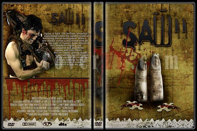 Saw - Custom Dvd Cover Set - English [2004-2010]-2jpg