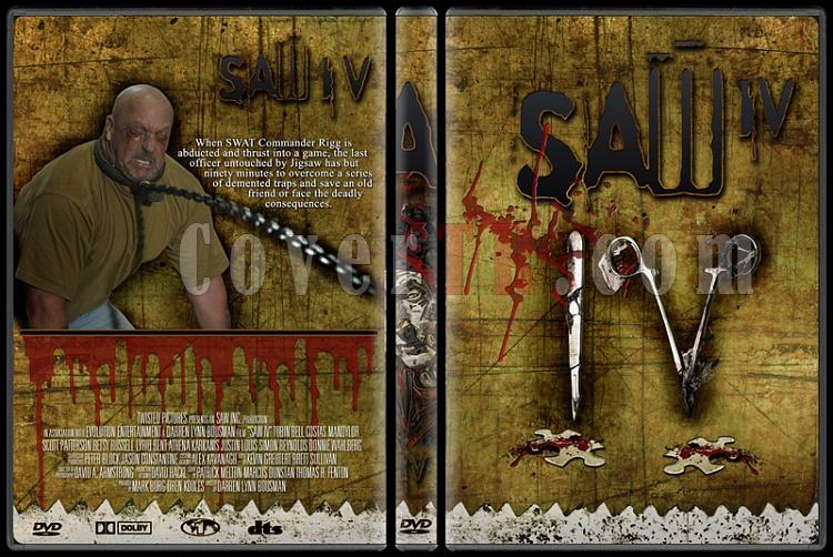 Saw - Custom Dvd Cover Set - English [2004-2010]-4jpg