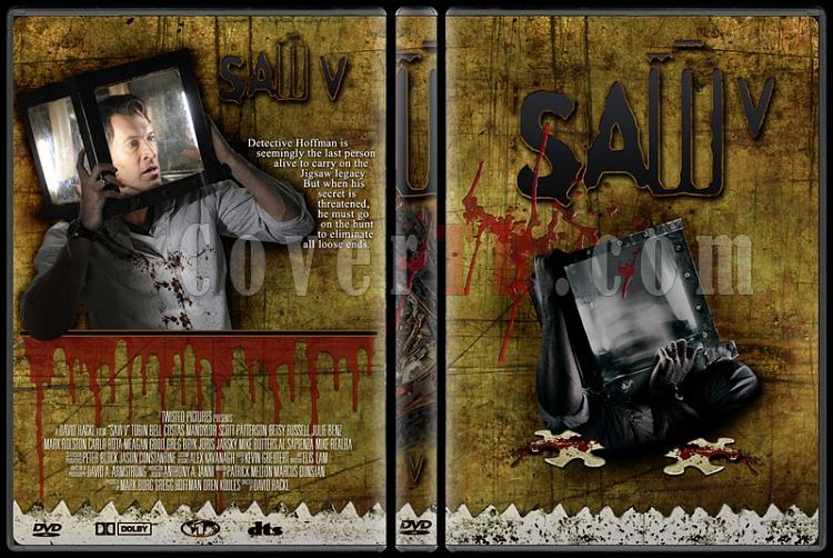 Saw - Custom Dvd Cover Set - English [2004-2010]-5jpg