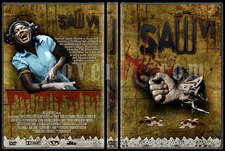 Saw - Custom Dvd Cover Set - English [2004-2010]-6jpg