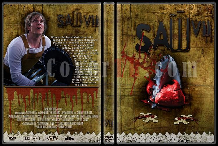 Saw - Custom Dvd Cover Set - English [2004-2010]-7jpg
