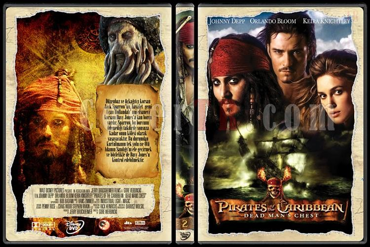 Pirates of the Caribbean Collection - Custom Dvd Cover - Türkçe [2003-2011]-3jpg