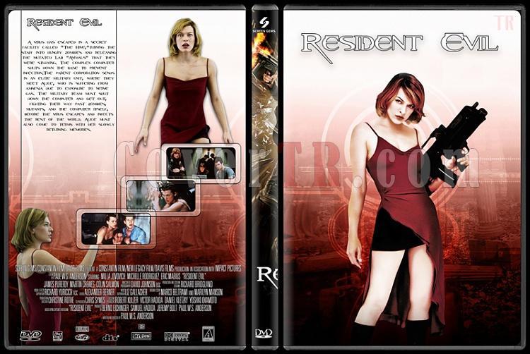 Resident Evil (Ölümcül Deney) Collection - Custom Dvd Cover Set - English [2002-2012]-1jpg