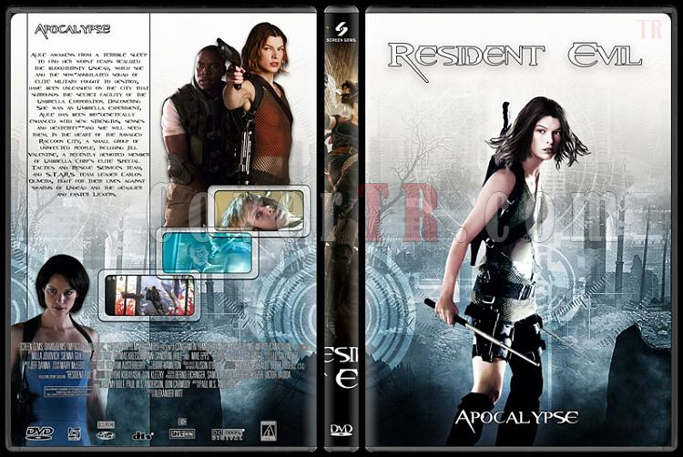 Resident Evil (Ölümcül Deney) Collection - Custom Dvd Cover Set - English [2002-2012]-2jpg