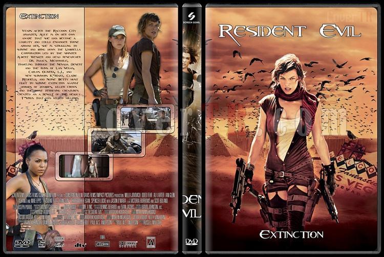 Resident Evil (Ölümcül Deney) Collection - Custom Dvd Cover Set - English [2002-2012]-3jpg