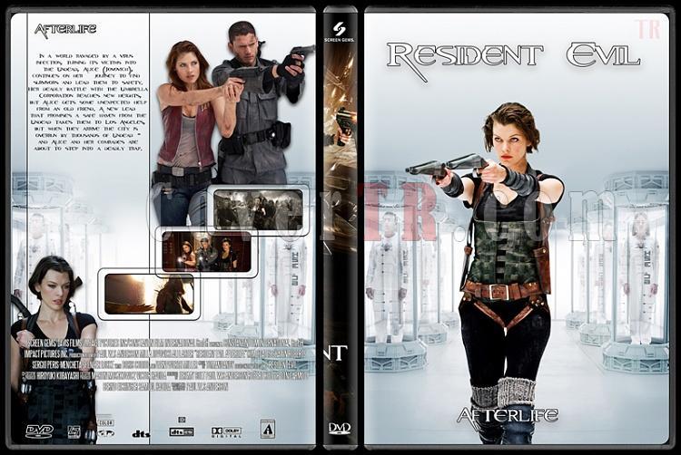Resident Evil (Ölümcül Deney) Collection - Custom Dvd Cover Set - English [2002-2012]-4jpg
