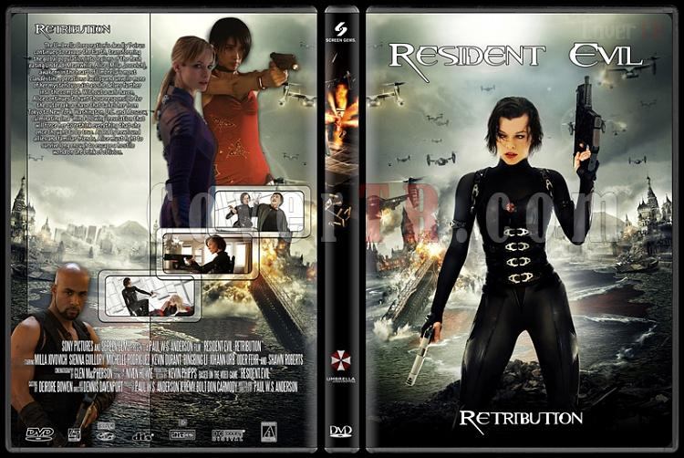 Resident Evil (Ölümcül Deney) Collection - Custom Dvd Cover Set - English [2002-2012]-5jpg