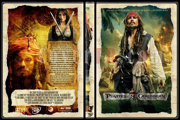 Pirates of the Caribbean Collection - Custom Dvd Cover - Türkçe [2003-2011]-5jpg