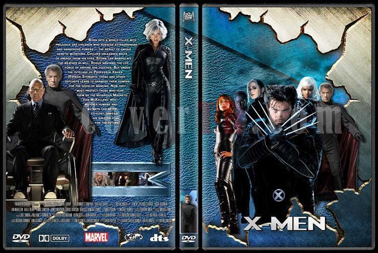 X-men Collection - Custom Dvd Cover Set - English-1jpg