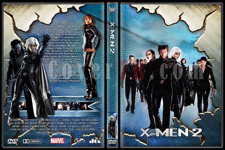 X-men Collection - Custom Dvd Cover Set - English-2jpg