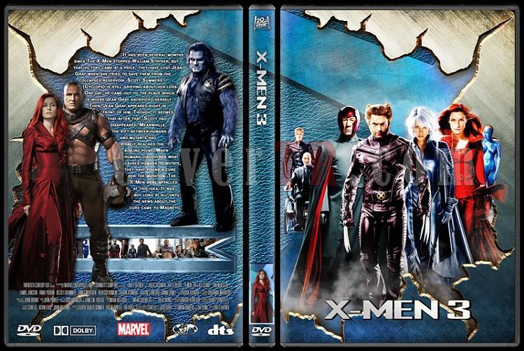 X-men Collection - Custom Dvd Cover Set - English-3jpg