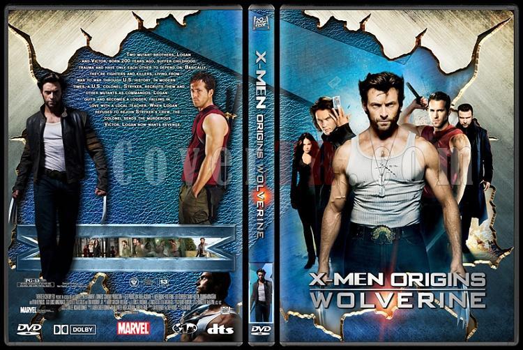 X-men Collection - Custom Dvd Cover Set - English-4jpg