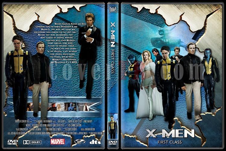 X-men Collection - Custom Dvd Cover Set - English-5jpg