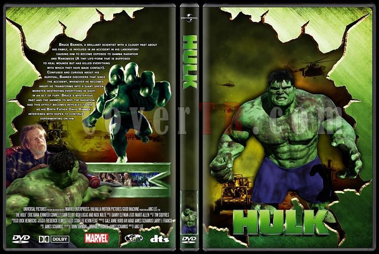 Hulk Collection - Custom Dvd Cover Set - English [2003-2008]-hulkjpg
