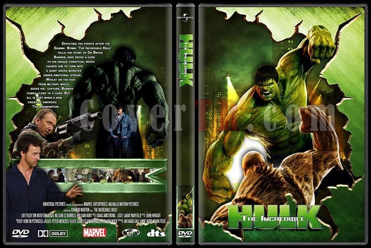 Hulk Collection - Custom Dvd Cover Set - English [2003-2008]-incredible-hulkjpg