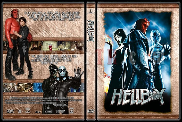 Hellboy Collection - Custom Dvd Cover Set - English [2004-2008]-hellboyjpg