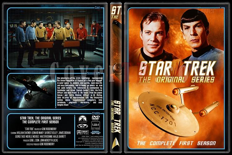 Star Trek (Season 1-3) - Custom Dvd Cover Set - English [1966-1986]-1jpg