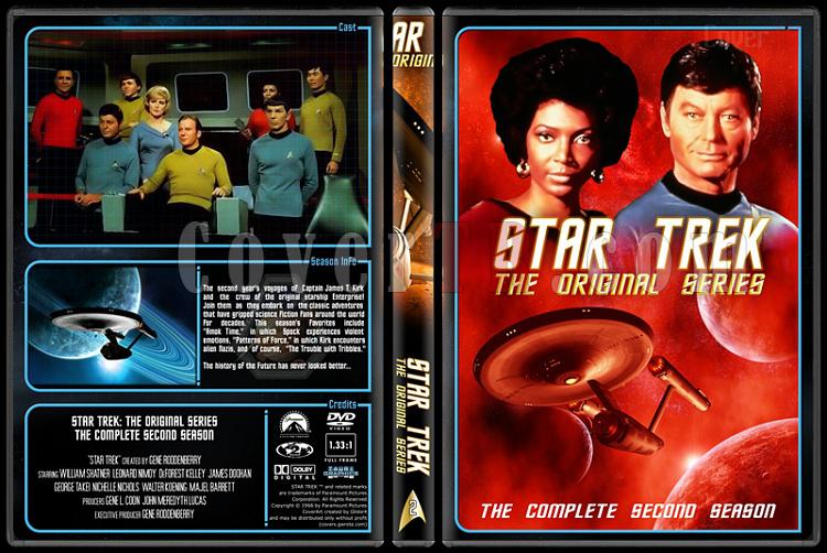 Star Trek (Season 1-3) - Custom Dvd Cover Set - English [1966-1986]-2jpg